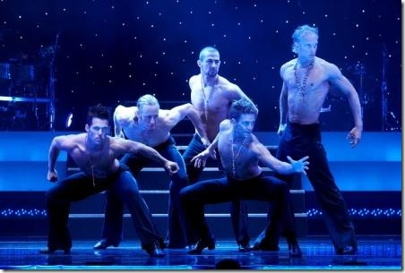 "The Ballroom Boys from 'Burn the Floor"" at Bank of America Theatre in Chicago."