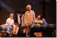 Steve Key, Mary Ann Thebus and Joe Dempsey in 'The Boys Room' by Joel Drake Johnson. Photo by Liz Lauren.
