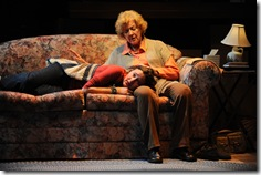 Allison Torem and Mary Ann Thebus in Victory Gardens 'The Boys Room' by Joel Drake Johnson. Photo by Liz Lauren.