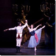 Victoria Jaiani and Miguel Angel Blanco in Joffrey Ballet's 'The Merry Widow'