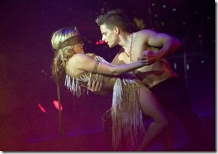 Weather Storm from 'Burn the Floor' in Chicago's Bank of America Theatre. Photo by Mark Kitanka