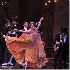 Yumelia Garcia and Graham Maverick in Joffrey Ballet's 'The Merry Widow'