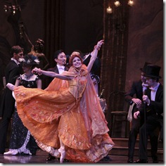 Yumelia Garcia and Graham Maverick in Joffrey Ballet's 'The Merry Widow'
