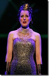 Erin Mosher in Elton John and Tim Rice's Tony Award-winning musical AIDA at Drury Lane Theatre Oakbrook Terrace. Photo credit: Brett Beiner.