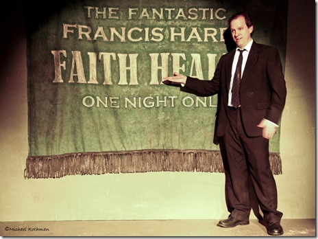 A scene from Oak Park Festival Theatre's 'Faith Healer' by Brian Friel.  Photo credit: Michael Rothman