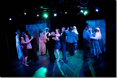 "Guests at the Ball of the Damned, a scene from ""The Master and Margarita"". Photo by Chris Ocken"