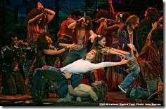 Paris Remillard, Matt DeAngelis, Hair the Musical, Joan Marcus