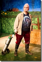 John Zinn as Nanna in Pavement Group's production of MilkMilkLemonade, a comedy by Joshua Conkel. Photo by Joel Moorman.