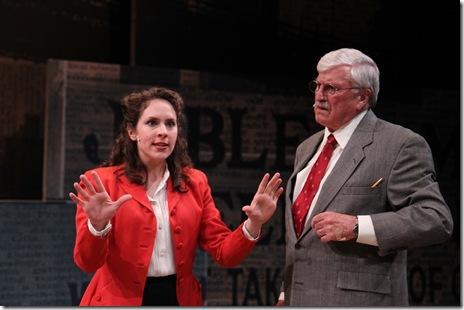 MJD--Elizabeth Lanza (Ann Mitchell) and Jim Sherman (Connell)