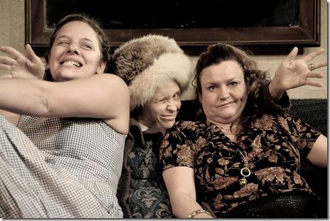 Nicole Wiesner, Dado, Beata Pilch - Trap Door Theatre - The First Ladies