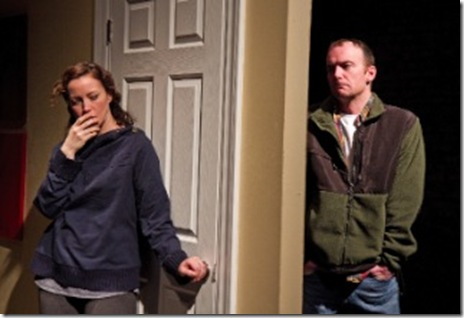 Rebecca Spence and John Byrnes in 'This' at Theater Wit. Photo by Johnny Knight.
