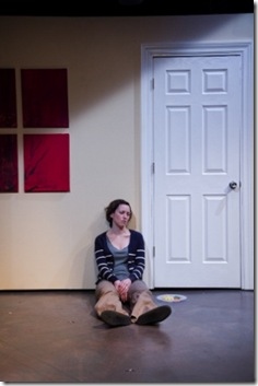 Rebecca Spence as Jane in 'This' at Theater Wit.  Photo by Johnny Knight.