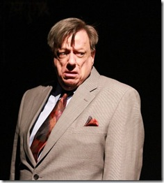 Danne W. Taylor as 'James Brevoort' in Black Elephant Theatre's 'Terre Haute' by Edmund White.