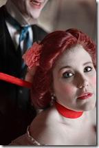 Matt Holzfeind and Kate Nawrocki as Cora and Hawley Crippen