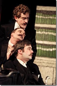 Three Faces of Dr. Crippen - Strange Tree Group - Matt Holzfeind, Stuart Ritter, & Scott Cupper as Doctor Crippen
