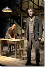 Andrew White and Philip R. Smith in a scene from Lookingglass Theatre's 'Ethan From', adapted by Laura Eason from book by Edith Wharton. Photo credit: Sean Williams