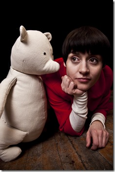 Mishelle Apalategui as Christopher Robin in Dream Theatre's 'The Grisly/Glorious Adventure of Christopher Robin, Winnie-the-Pooh and Billy Moon.