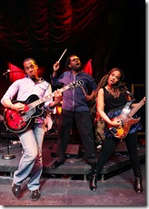 From left: Steven Perkins, Aaron Holland, Sharriese Hamilton. ©2011 Bailiwick Chicago, Photo by Jay Kennedy.