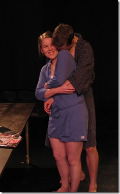 "A scene from ""Unbroken"" by Alexandra Wood and directed by Evan F. Caccioppoli; presented by Kid Brooklyn Productions"