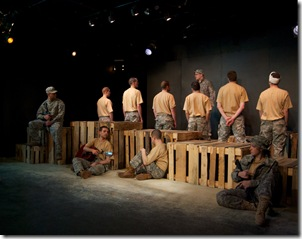 """""""Bury the Dead"""" Cast in Promethean Theatre Ensemble's Irwin Shaw play. Photo by Tom McGrath of TCMcG Photography."""