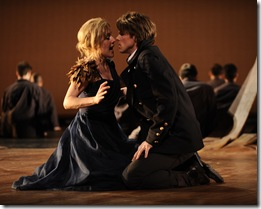 Anna Stephany as Medea, Colin Ainsworth as Jason. Photo by Liz Lauren