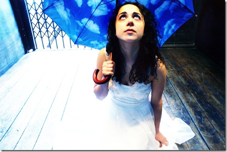 Carolyn Faye Kramer as Eurydice in Filament Theatre Ensemble's 'Eurydice' by Sarah Ruhl.