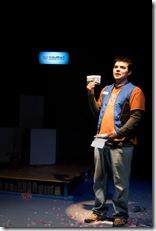 Derek Garza (Ebenn) in Mortar Theatre Company's 'I Am Montana'. Photo credit: TCMcG Photography