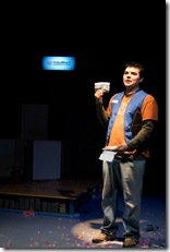 Derek Garza (Ebenn) in Mortar Theatre Company's 'I Am Montana'. Photo credit: TCMcG Photography