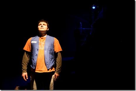 Derek Garza as Ebenn in Mortar Theatre Company's 'I Am Montana'. Photo credit: TCMcG Photography.