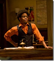 Ensemble member Jon Michael Hill in Steppenwolf Theatre's 'The Hot L Baltimore'.