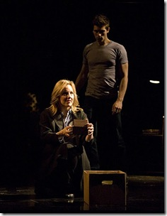 Alice Ripley and Curt Hansen in 'Next to Normal'.