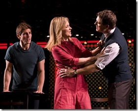 Curt Hansen (Gabe), Alice Ripley (Diana) and Asa Somers (Dan) in Broadway in Chicago's 'Next to Normal'