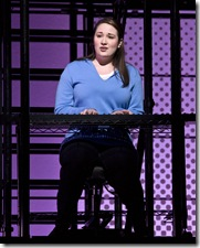 Emma Hunton as Natalie in the national tour of 'Next to Normal'.
