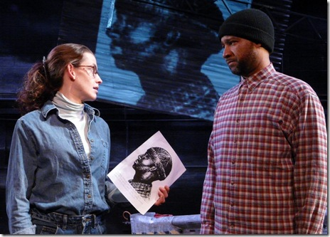 Samantha Gleisten and D'Wayne Taylor in Brutal Imagination