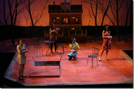 Cast from 'El Nogalar' by Tonya Saracho.