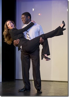 (L-R) Holly Laurent, Sam Richardson • Photo by Michael Brosilow.