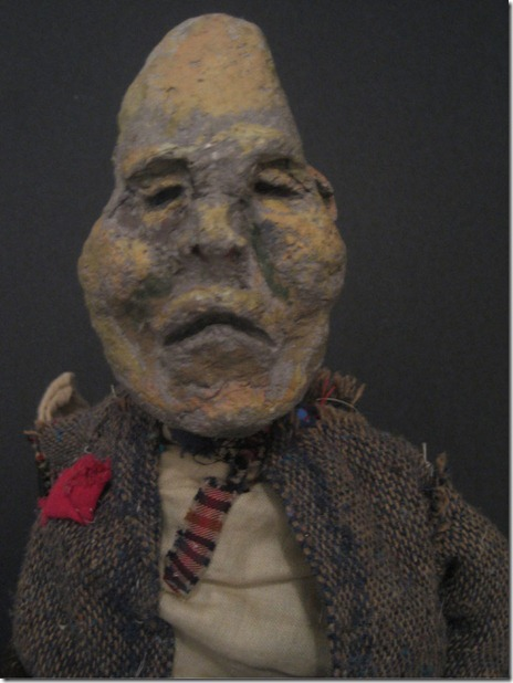 Theatre Zarko puppet - from Solo Works, Spring 2011