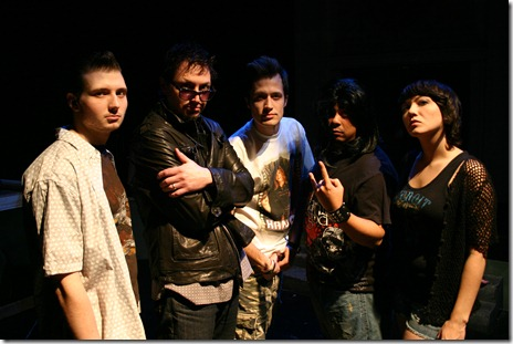 The cast from 'Soul One', being produced by Clock Productions at Natiional Pastime Theater