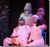A scene from MidTangent Production's 'Twinkie and the Beast' at Chicago's Hydrate Night Club in Boystown.