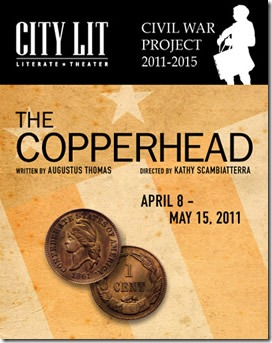 The Copperhead poster - City Lit Theater Chicago
