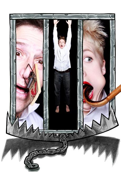 Tim Heck (Stacy), Leah Urzendowski (Lily), Adrian Danzig (Bruce)