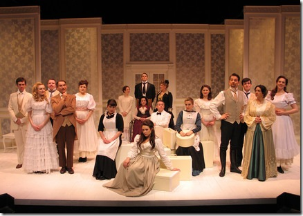 A Little Night Music cast - Circle Theatre Oak Park