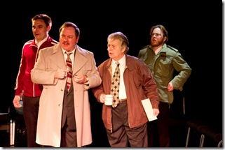 "A scene from Jon Steinhagen's new play ""Aces"", presented by Signal Ensemble Theatre. (Photo: Johnny Knight)"