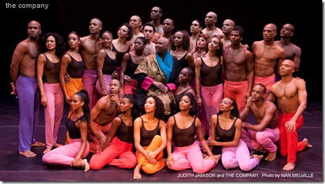 Alvin Ailey - The Company (Picture: Nan Melville)