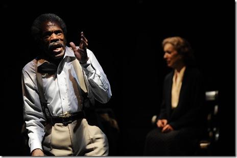 "André De Shields as James in Victory Garden's ""The Gospel According To James"" by Charles Smith (photo: Liz Lauren)"