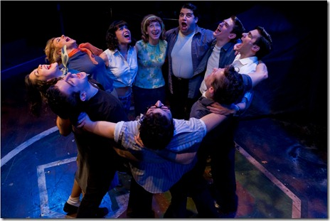 "A scene from American Theater Company's ""The Original Grease"". Photo by Brett Beiner"