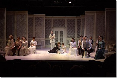 """The Cast of Circle Theatre's """"A Little Night Music"""" by Stephen Sondheim and directed by Bob Knuth."""