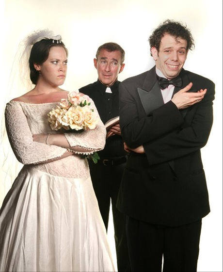 """Marital mayhem abounds in Diamante Productions """"Cold Cold Feet"""" by Tony Fiorentino."""