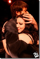 "Zack Meyer and Mindy Yourokos in 20% Theatre's ""Electra and Orestes"""