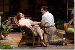 """Tiffany Scott and Martin Yurek in Writers' Theatre's """"Heartbreak House"""" by George Bernard Shaw."""